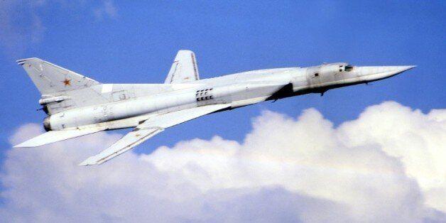 Des bombardiers à longue portée Tu-22M3 ont