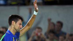 Les larmes de Djokovic après sa défaite aux