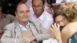 Jacques Chirac passe ses vacances au
