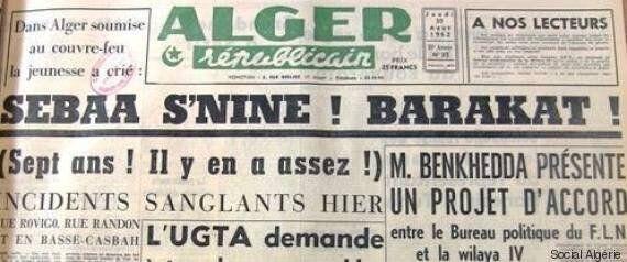 L'été 1962 en Algérie revisité avec l'historien Amar Mohand-Amer :