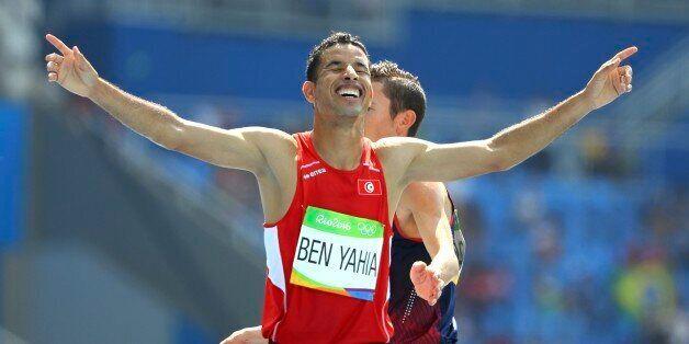 2016 Rio Olympics - Athletics - Preliminary - Men's 3000m Steeplechase Round 1 - Olympic Stadium - Rio...