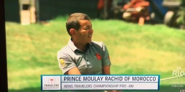 Moulay Rachid remporte un tournoi de golf aux