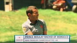 Moulay Rachid remporte un tournoi de golf aux