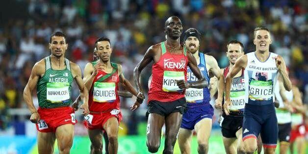 2016 Rio Olympics - Athletics - Semifinal - Men's 1500m Semifinals - Olympic Stadium - Rio de Janeiro,...