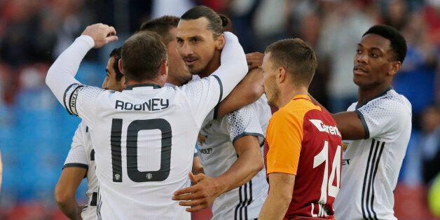 Football Soccer - Galatasaray v Manchester United - Pre Season Friendly - Ullevi Stadium, Gothenburg,...