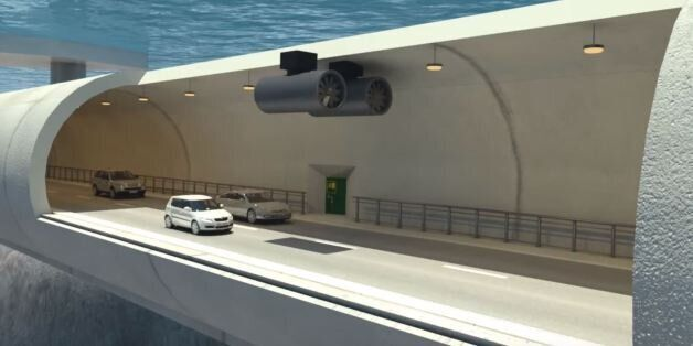 Entre le tunnels sous-marin et le pont, la Norvège pourrait expérimenter les tunnels