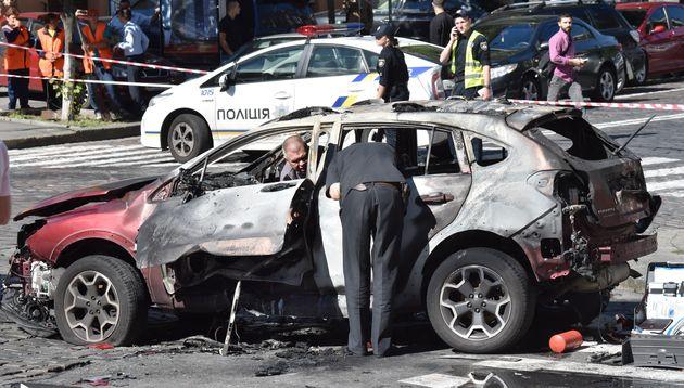 Le journaliste russe Pavel Cheremet tué par l'explosion d'une bombe dans sa voiture à