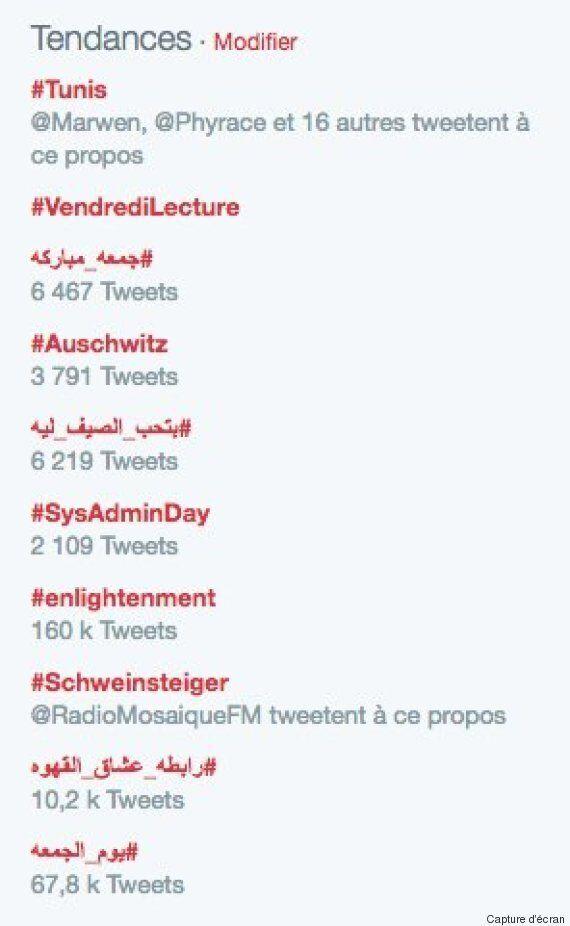 L'hashtag #Tunis en Top Tweet, certains twittos profitent de l'occasion pour promouvoir le