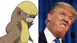Ce nouveau pokémon ressemble beaucoup à Donald
