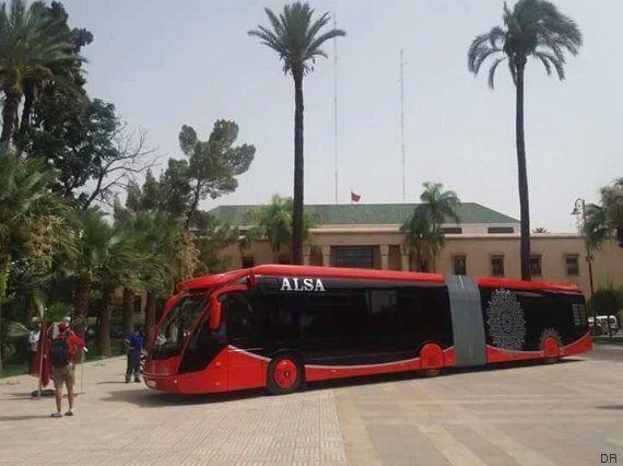Les bus électriques de Marrakech en phase de test