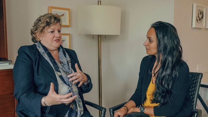Nikki Macdonald, the Liberal candidate in Victoria, chats with HuffPost Canada's Althia Raj.