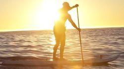 Un Sud-Africain veut aller du Maroc à la Floride en paddle pour la bonne