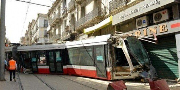 Déraillement d'une rame vide du tramway d'Oran, le trafic partiellement