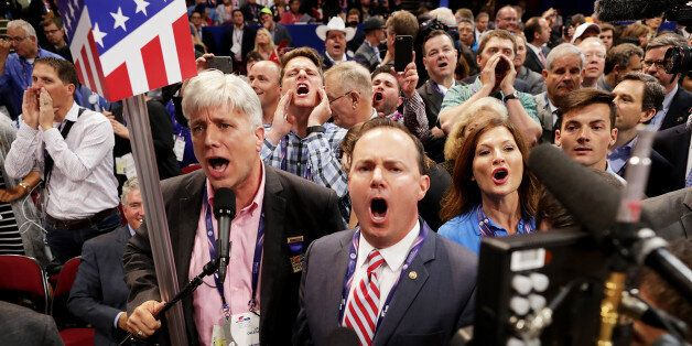 Les délégués anti-Trump ont bien semé la pagaille à la convention de