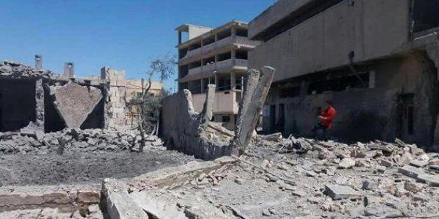 En avril 2016, l'hôpital Al Quds soutenu par MSF à Alep avait été