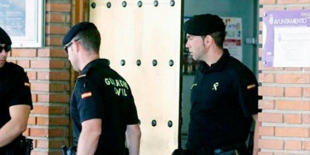Policiers de la Guardia Civil (Photo