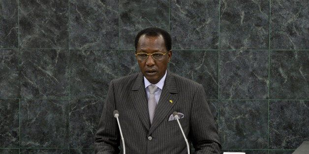 Idriss Deby Itno, President of Chad, addresses the 68th United Nations General Assembly at UN headquarters...