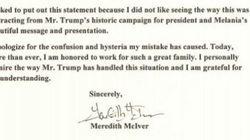 L'auteure du discours plagié de Melania Trump présente ses