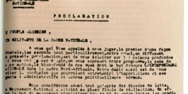 L'enregistrement en Tamazight de la Proclamation du 1er Novembre 1954 avant le 20
