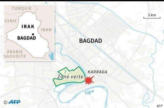 Irak: colère et deuil après le carnage du quartier de Kerrada à