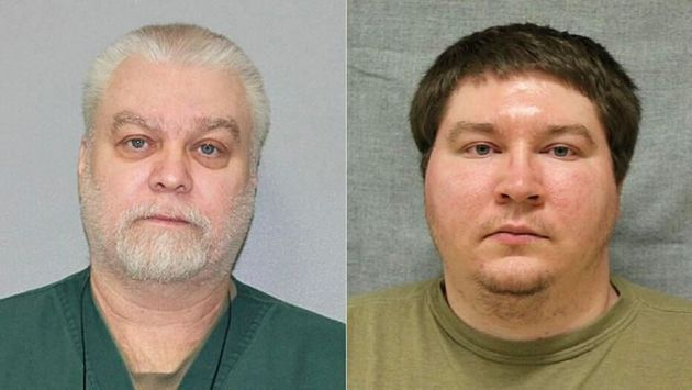 '살인자 만들기'의 주요 인물인 스티븐 에이버리(좌)와 브랜든