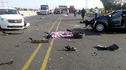 Huit morts et des blessés dans un accident de la route au