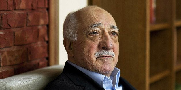 FILE - In this March 15, 2014, file photo, Turkish Islamic preacher Fethullah Gulen is pictured at his...