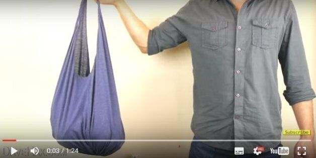 Après l'interdiction des sacs plastique, voici le tuto le plus simple pour faire son propre