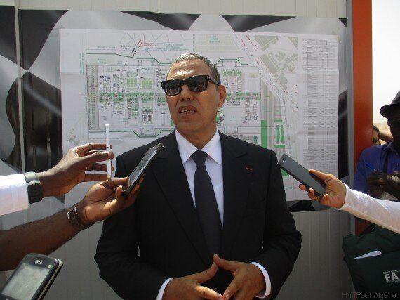 Le site de la Conférence de Marrakech sur le climat