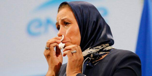 Latifa Ibn Ziaten le 19 novembre 2015 à Paris. REUTERS/Jacques