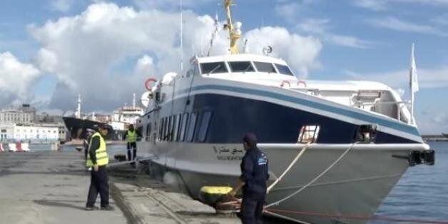 Coup d'envoi des liaisons maritimes