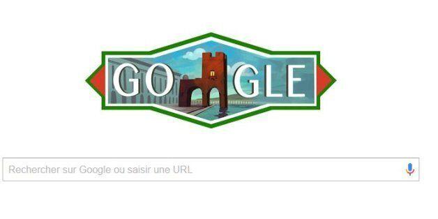 Google célèbre la fête de l'indépendance