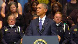 Le discours émouvant de Barack Obama à Dallas en hommage aux policiers