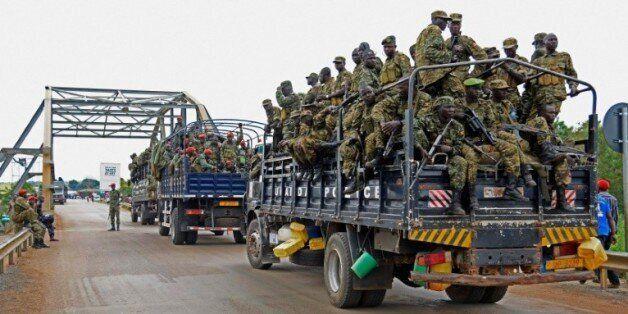 L'armée ougandaise en direction de Juba, capitale du Sud-Soudan, le 14 juillet