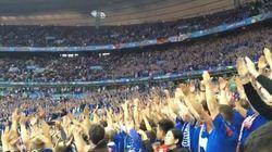 Le Stade de France a adopté le clapping des Islandais (frissons