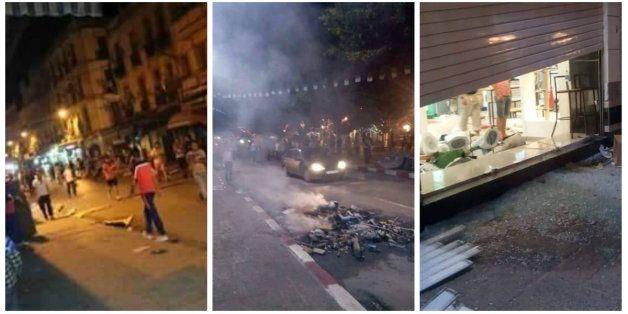 Affrontements entre forces de l'ordre et vendeurs informels à Annaba, des blessés et des magasins