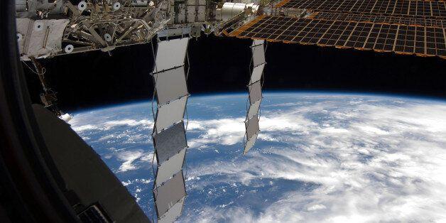 La station spatiale internationale visible à l'oeil nu depuis le