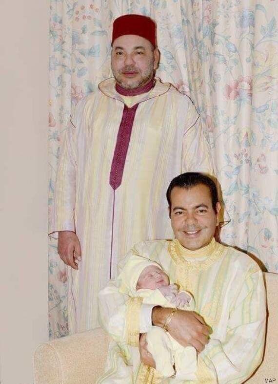 La photo du fils du prince Moulay Rachid et de Lalla Oum