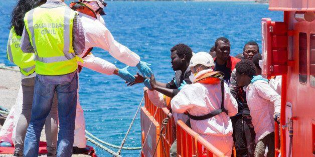 Nouvelle tentative de passage en méditerranée à partir du Maroc (Photo