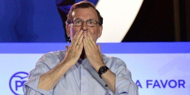 Le leader du parti populaire Mariano Rajoy le 26 juin 2016 à