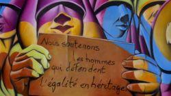 A Rabat, des artistes masculins défendent l'égalité dans l'héritage dans une exposition