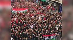 La vague de supporters hongrois à Marseille est