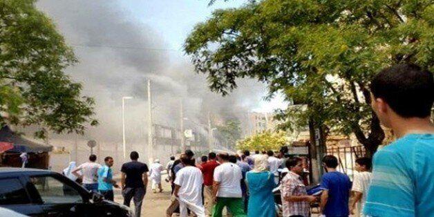 Blida: 11 blessés dans un incendie au centre commercial