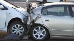Les accidents de la route en légère hausse par rapport à