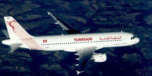 Tunisia airlines Tunisair Airbus A320 in