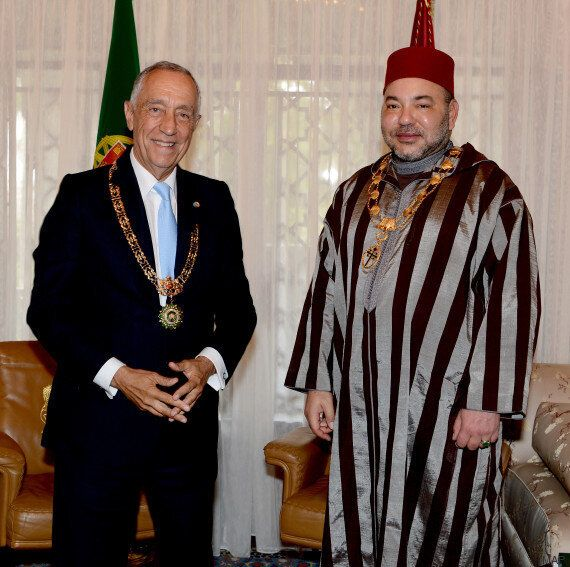 Le roi Mohammed VI et le président portugais Marcelo Rebelo de Sousa autour d'un f'tour