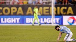 Lionel Messi ne jouera plus pour l'Argentine
