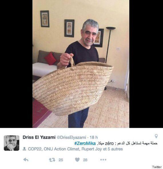 Driss El Yazami fait campagne contre les sacs plastique avec sa