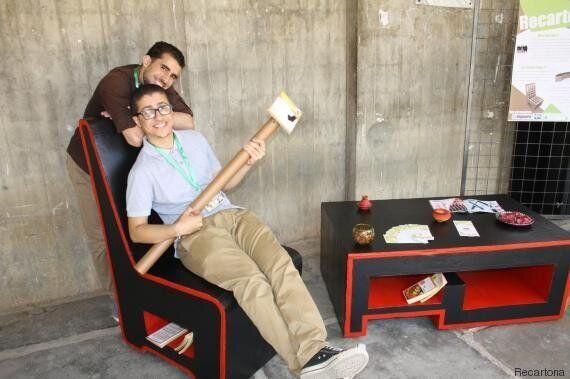 Des étudiants de l'EPAU relèvent le défi de créer du mobilier en