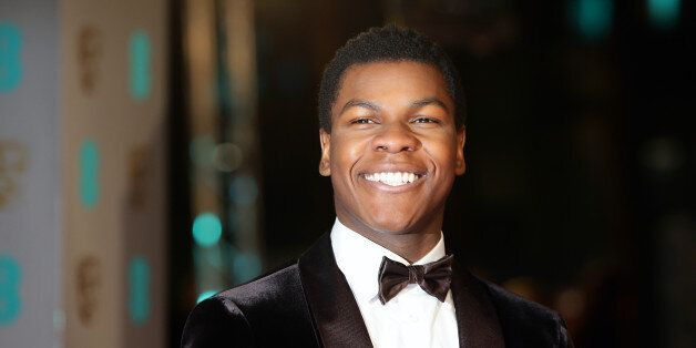 John Boyega attending the EE British Academy Film Awards at the Royal Opera House, Bow Street, London....